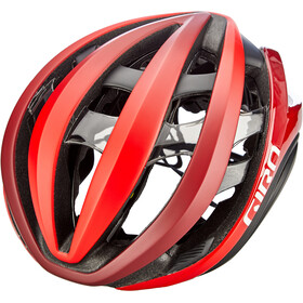 Giro Aether MIPS Kask rowerowy, mat bright red/dark red/black